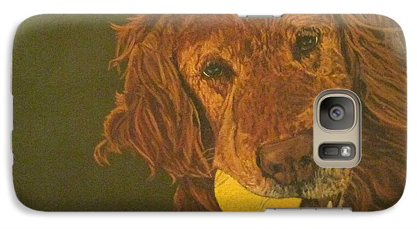 Galaxy Case featuring the painting Did Somebody Say Ball? by Wendy Shoults