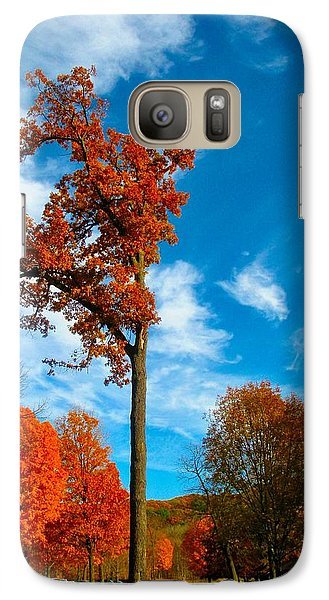 Galaxy Case featuring the photograph Loneliness by Zafer Gurel