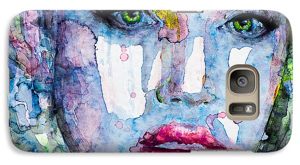 Galaxy Case featuring the painting Different Is Inspiring by Laur Iduc
