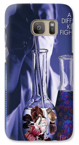 Galaxy Case featuring the digital art Different Kind Of Fight No2 by Megan Dirsa-DuBois