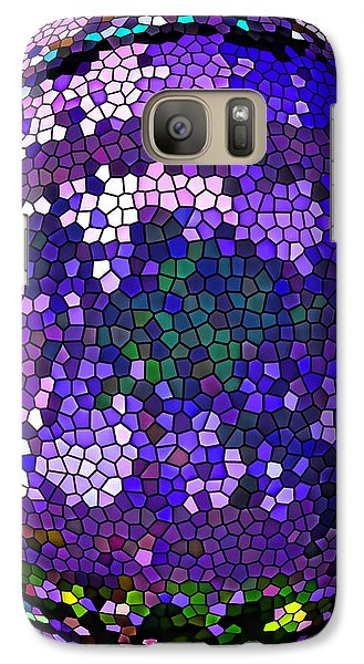 Galaxy Case featuring the digital art Digital Dreams by Oscar Alvarez Jr