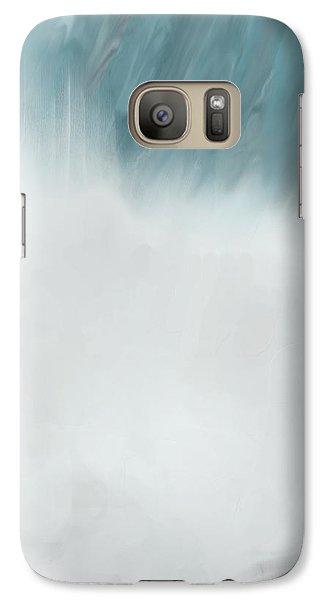 Galaxy Case featuring the digital art Digital Falls by Linda Whiteside