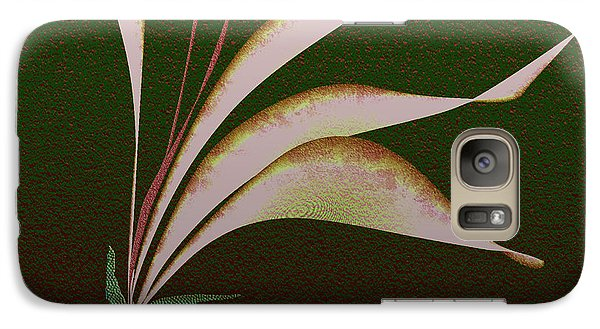 Galaxy Case featuring the digital art Digital Lily by Asok Mukhopadhyay