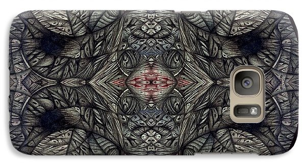 Galaxy Case featuring the drawing Digitized Ballpoint September Seventeenth by Jack Dillhunt