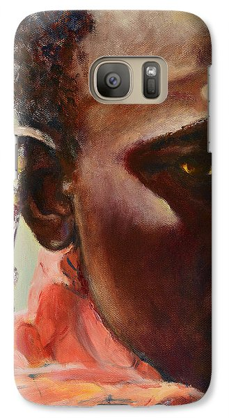Galaxy Case featuring the painting Dignity by Sher Nasser