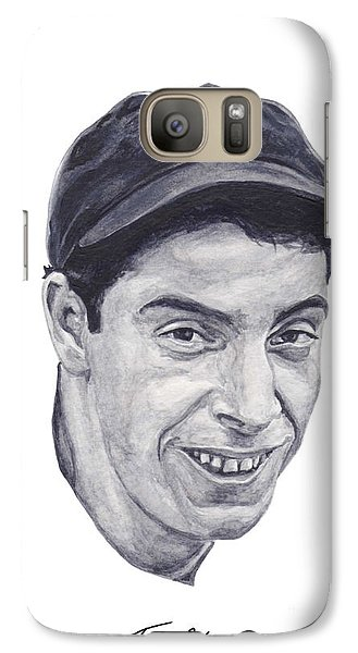 Galaxy Case featuring the painting Dimaggio by Tamir Barkan