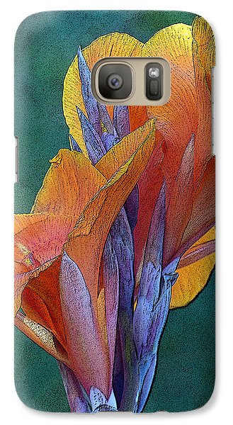 Galaxy Case featuring the photograph Dimensional Beauty by Cindy McDaniel