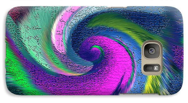 Galaxy Case featuring the mixed media Dimensional Doorway by Carl Hunter