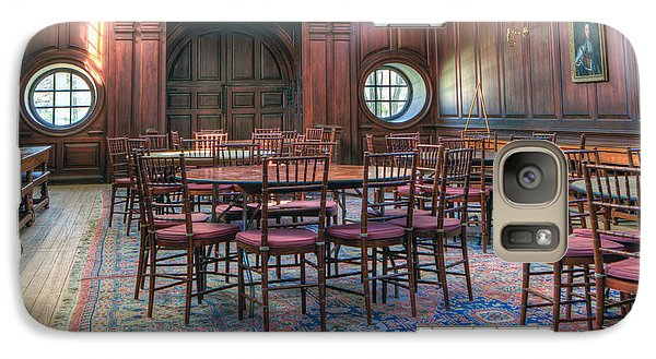 Galaxy Case featuring the photograph Dining Hall Wren Building by Jerry Gammon