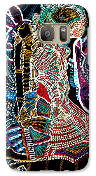 Galaxy Case featuring the painting Dinka Bride by Gloria Ssali