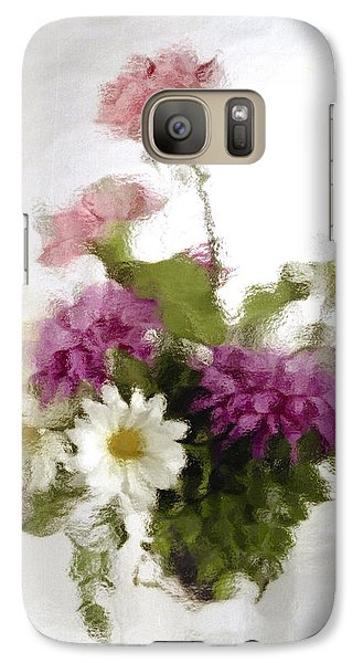 Galaxy Case featuring the photograph Dinner For Two by Penny Lisowski