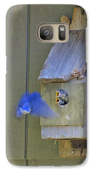 Galaxy Case featuring the photograph Dinner Time by Dodie Ulery