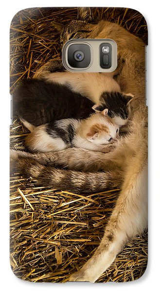 Galaxy Case featuring the photograph Dinner Time by Jay Stockhaus