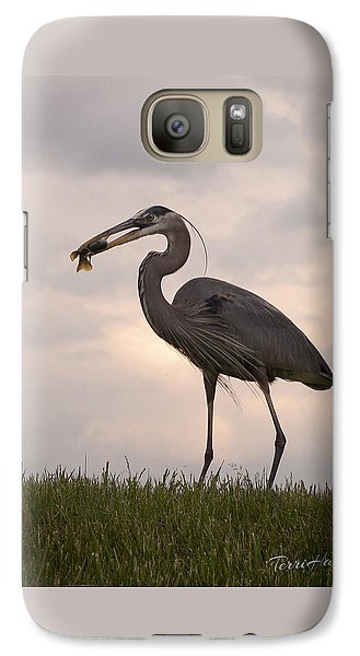 Galaxy Case featuring the photograph Dinner Time by Terri Harper