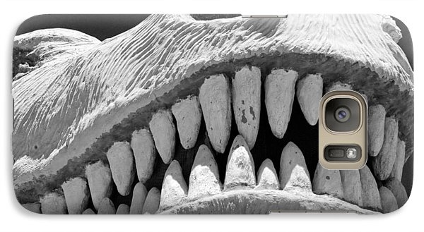 Galaxy Case featuring the photograph Dino Says by Carolina Liechtenstein