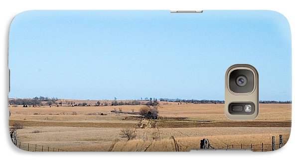 Galaxy Case featuring the photograph Dirt Road by Mark McReynolds