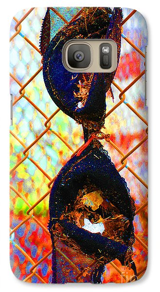 Galaxy Case featuring the photograph Dirty Laundry by Christiane Hellner-OBrien