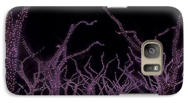 Galaxy Case featuring the photograph Disco Trees by Jim Snyder