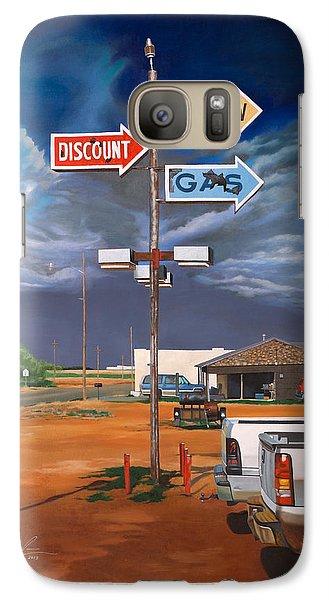 Discount Self-serv Gas Galaxy S7 Case