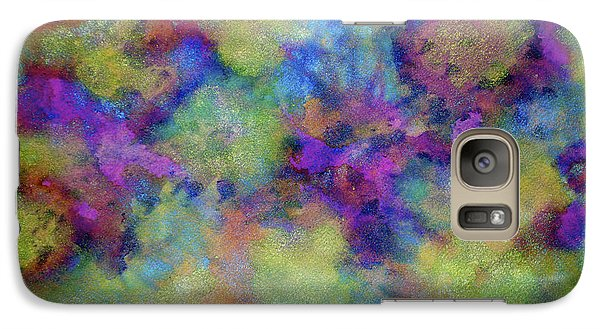 Galaxy Case featuring the painting Discovery by  Heidi Scott