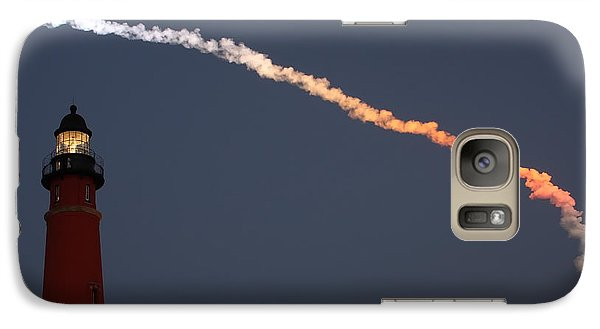 Galaxy Case featuring the photograph Discovery Sunset Plume by Paul Rebmann