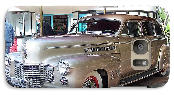 Galaxy Case featuring the photograph Disney Cadillac by Tom Doud