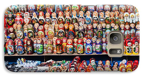Display Of The Russian Nesting Dolls Galaxy S7 Case by Panoramic Images