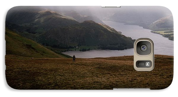 Galaxy Case featuring the photograph Distant Hills Cumbria by John Williams