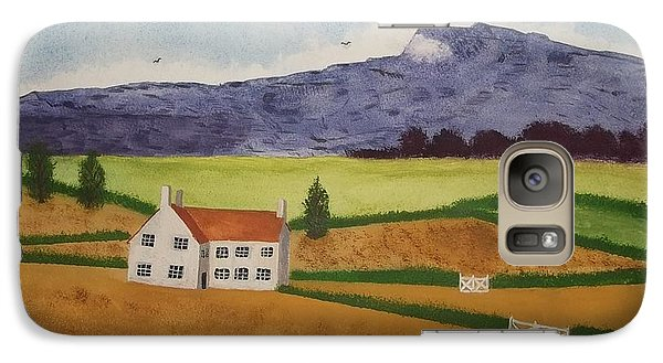 Galaxy Case featuring the painting Distant Hills by John Williams