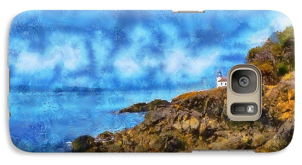Galaxy Case featuring the digital art Distant Lime Kiln by Kaylee Mason