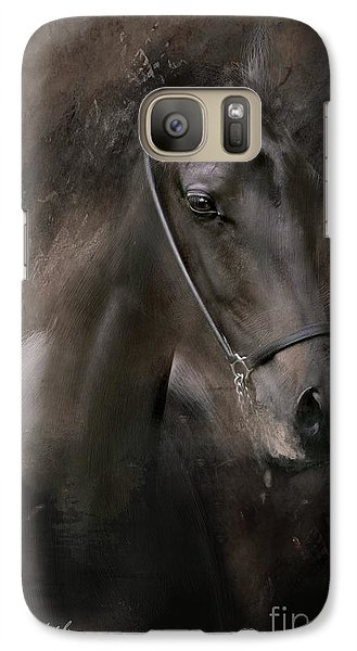 Galaxy Case featuring the painting Distinguished by Dorota Kudyba