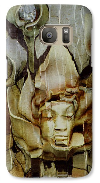 Galaxy Case featuring the photograph Distortion by Penny Lisowski