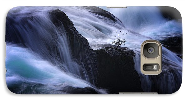 Galaxy Case featuring the photograph Distractions by Philippe Sainte-Laudy