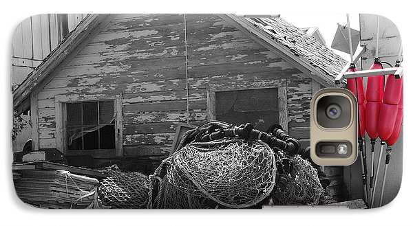 Galaxy Case featuring the photograph Distressed Fishery by Greg Graham
