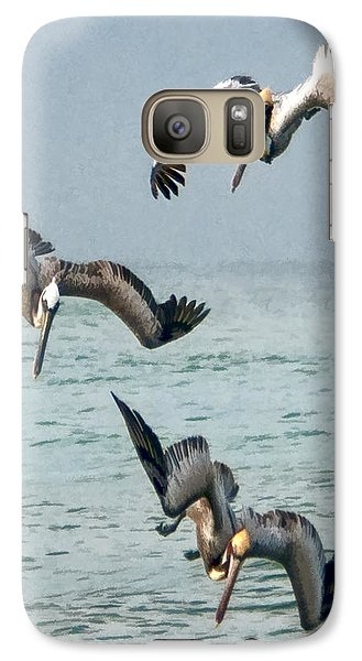 Galaxy Case featuring the photograph Divers by Don Durfee