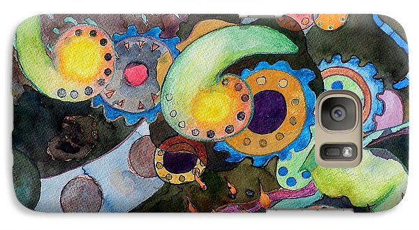 Galaxy Case featuring the painting Diverticulitis by Jeffrey S Perrine