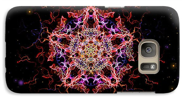 Galaxy Case featuring the painting Divine Mother by Persephone Artworks