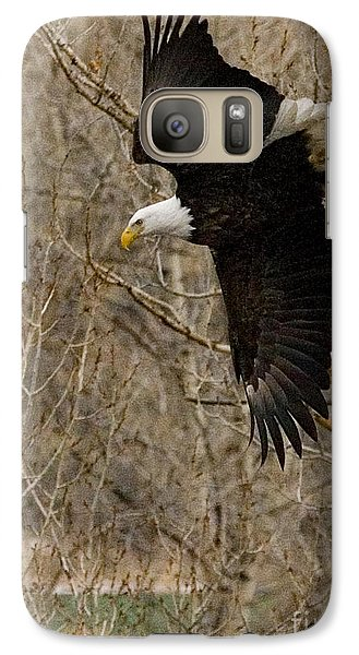 Galaxy Case featuring the photograph Diving Eagle by J L Woody Wooden