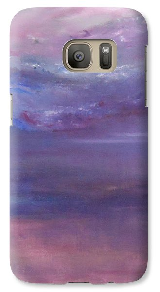 Galaxy Case featuring the painting Divinity by Jane  See