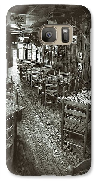 Dixie Chicken Interior Galaxy S7 Case by Scott Norris