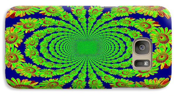 Galaxy Case featuring the photograph Dizzying Daisies 2 by Kelly Nowak