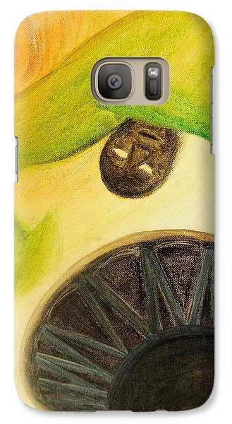 Galaxy S7 Case featuring the painting Djembe by Marc Philippe Joly