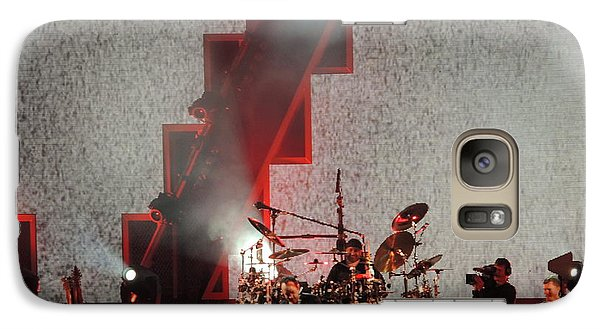 Galaxy Case featuring the photograph Dmb Members by Aaron Martens