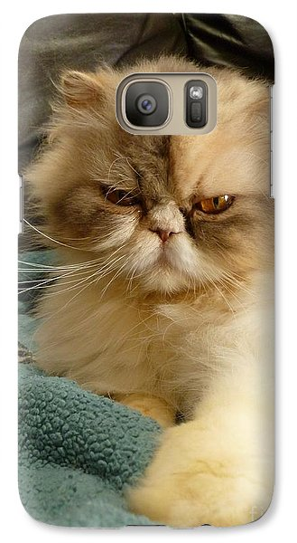 Galaxy Case featuring the photograph Do I Look Amused? by Vicki Spindler