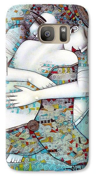 Nudes Galaxy S7 Case - Do Not Leave Me by Albena Vatcheva