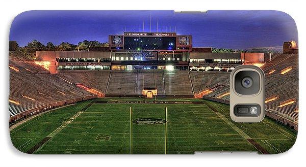 Florida State Galaxy S7 Case - Doak Campbell Stadium by Alex Owen