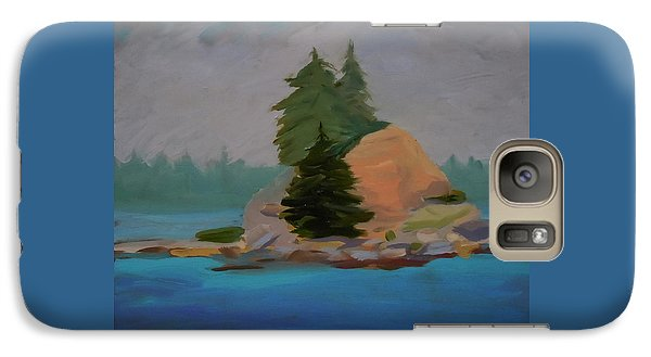 Galaxy Case featuring the painting Pork Of Junk by Francine Frank