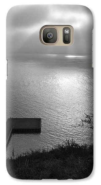 Galaxy Case featuring the photograph Dock On San Francisco Bay by Scott Rackers