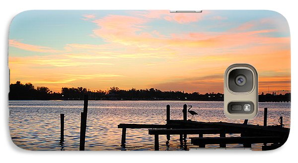Galaxy Case featuring the photograph Dock On The Bay by Margie Amberge