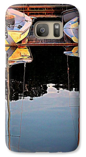 Galaxy Case featuring the photograph Docked by Geri Glavis